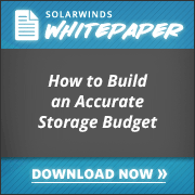 How To Build An Storage Budget