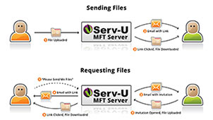 Secure & Ad Hoc File Sharing