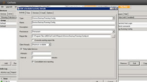 Backup Device Configurations