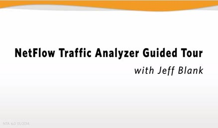 Take a guided tour of SolarWinds' NetFlow Analyzer.