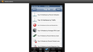Mobile IT Infrastructure Monitoring
