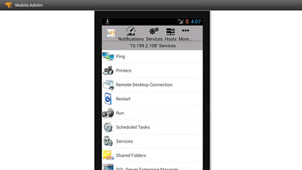 Mobile Remote Windows Administration