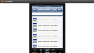 Mobile Virtualization Management