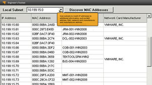 MAC Address Discovery