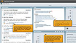 View of easy to deploy SIEM software solution.
