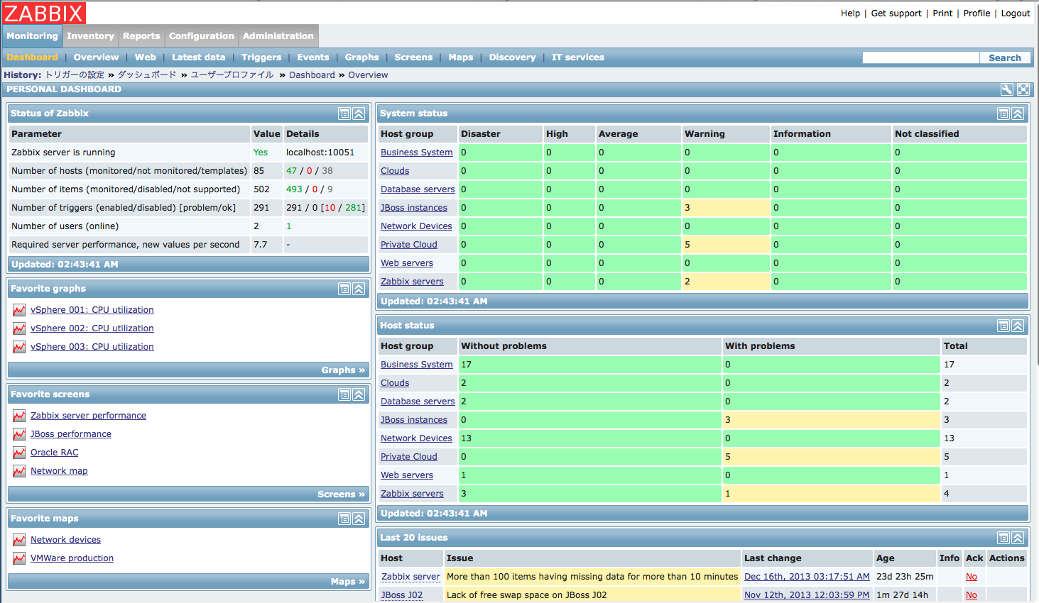 Top free network monitoring tools dnsstuff for Architecture zabbix